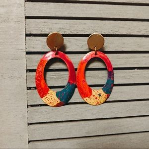 Francesca collection statement earrings